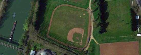 Terrain baseball Compiègne Marlins