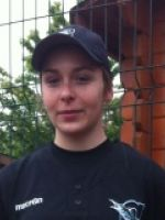 Mathilde chez les Marlins baseball