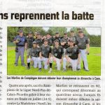 Nationale 2 pour les Marlins