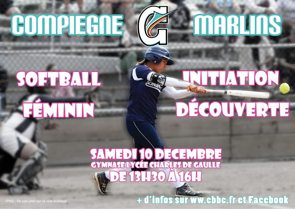 Initiation softball Compiegne